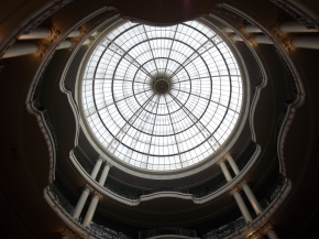 Whiteleys dome, London.