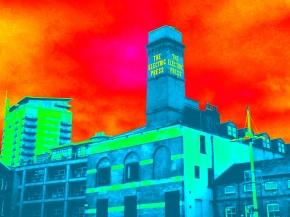 Electric Press Sign Leeds
