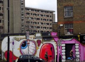 Hackney Road Street Art